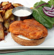 BENNIGAN'S BUFFALO CHICKEN SANDWICH RECIPE
