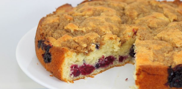 Starbucks Very Berry Coffee Cake Recipe