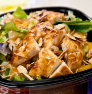 Wendys Mandarin Chicken Salad